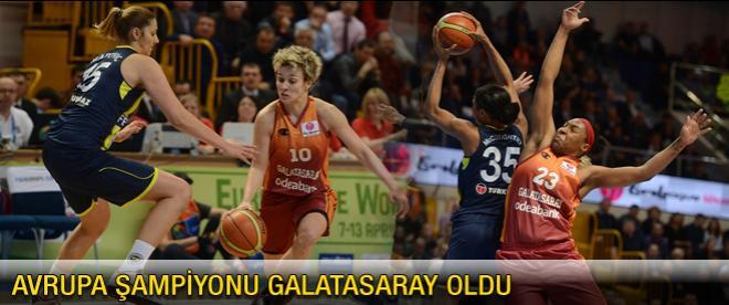 Avrupa'da şampiyon Galatasaray