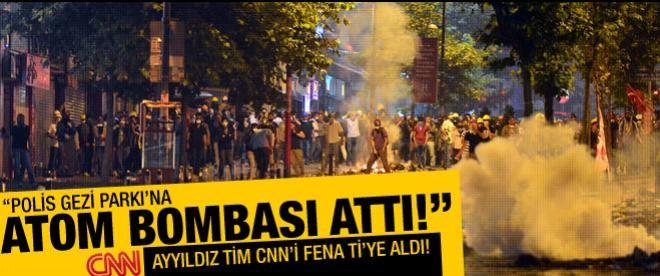 """Ayyıldız Tim: """"Polis Gezi Parkı'nda atom bombası kullandı!"""""""
