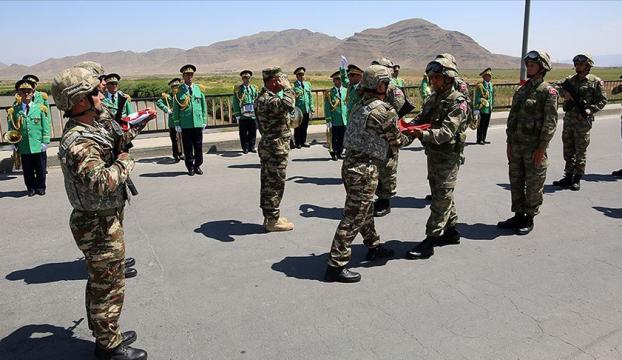 Azerbaycanla ortak tatbikata katılacak Türk askerleri Nahçıvana geldi