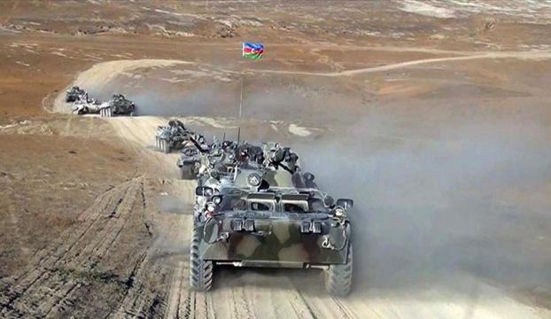 Türkiye ve Azerbaycanın tatbikatında temsili düşman saldırısı geri püskürtüldü