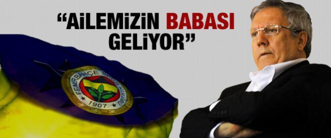 Aziz Yıldırım İstanbul'a geliyor