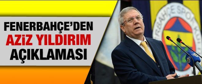 Fenerbahçe'den Yıldırım açıklaması
