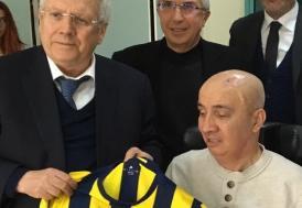 Aziz Yıldırım'dan 15 Temmuz gazisi Turgut Aslan'a anlamlı ziyaret