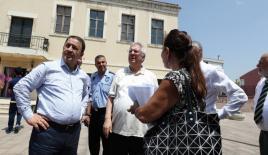 Aziz Yıldırım, Fenerbahçe Üniversitesinin yerleşkesini gezdi