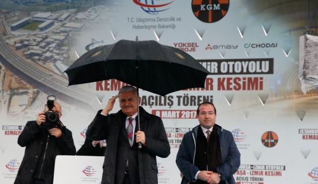 Başbakan Yıldırım İzmirde