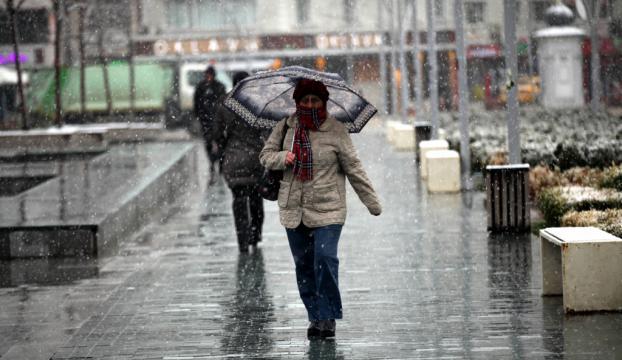 Boluda yoğun kar yağışı