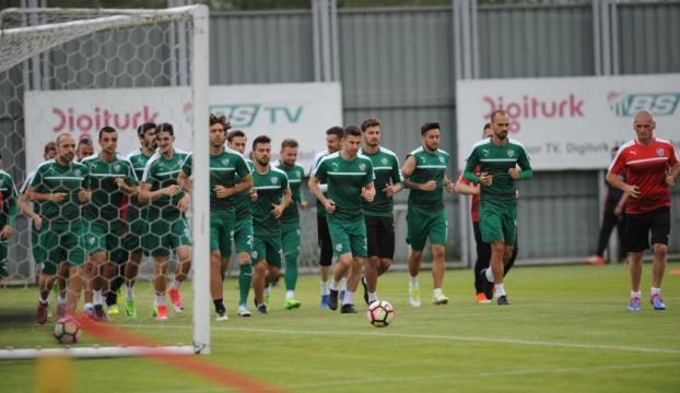 Bursaspor, Beşiktaş maçı hazırlıklarına başladı