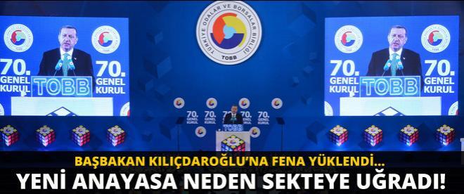Başbakan Kılıçdaroğlu'na: ''İkimiz beraber Yeni Anayasa'yı yapalım''