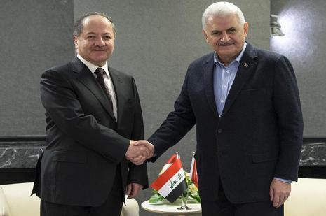 Yıldırım-Barzani görüşmesi sona erdi