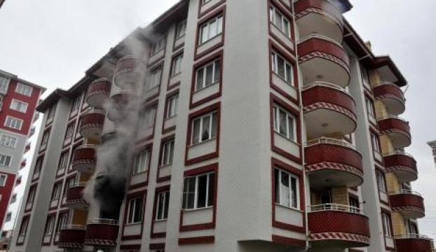 Bacadan çıkan kıvılcımlar bir evi kül etti