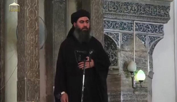 El- Bağdadinin eşi ile oğlu yakalandı