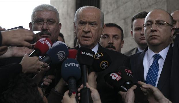 MHP Genel Başkanı Bahçeli: İstanbulda yeni bir seçim düşünülebilir