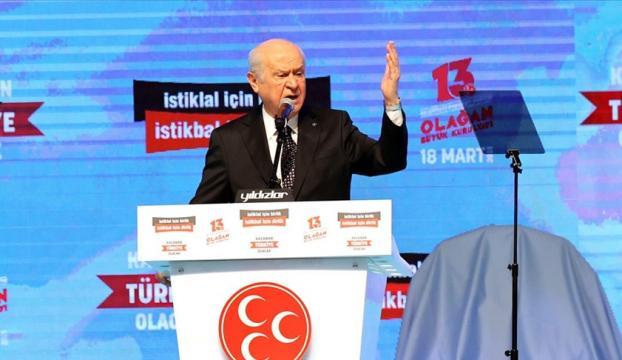Devlet Bahçeliden HDP açıklaması
