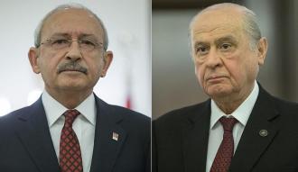 Kılıçdaroğlu ile Bahçeli bir araya gelecek