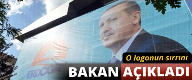 Erdoğan'ın logosunun sırrını Bakan açıkladı