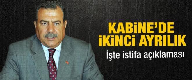 Bakan Güler istifa etti
