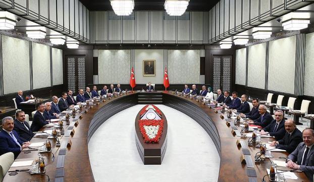 Bakanlar Kurulu Erdoğan başkanlığında toplandı