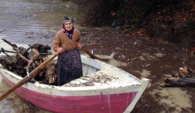Balık Yerine Odun Avlıyorlar