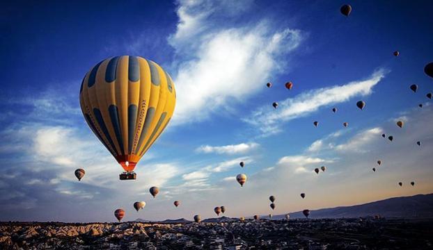 Kapadokyada balon kazası : 49 yaralı