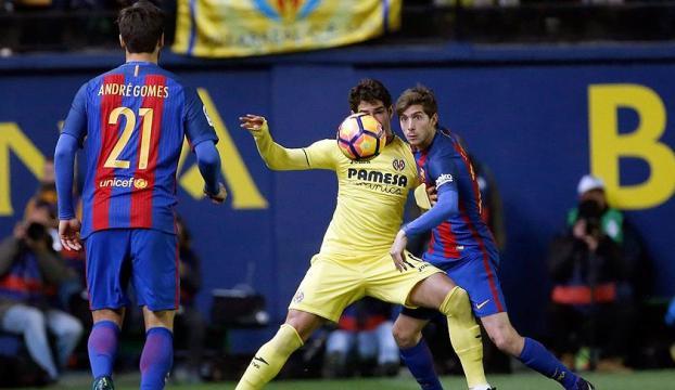 Barcelona, Villarreal deplasmanından 1 puanla döndü