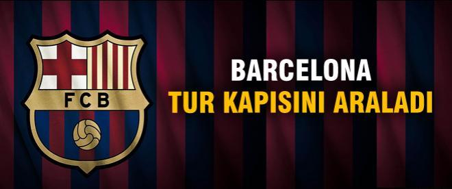 Barcelona turu kapısını araladı