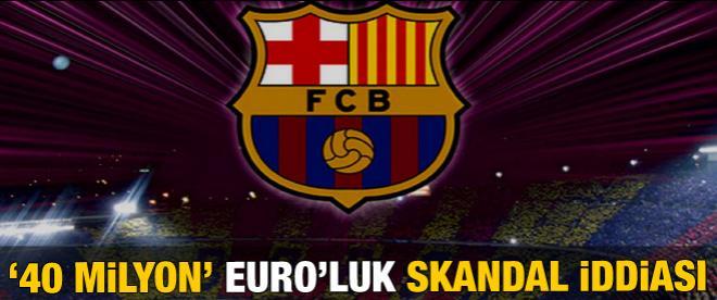 Barcelona'da '40 milyon Euro'luk' transfer skandalı