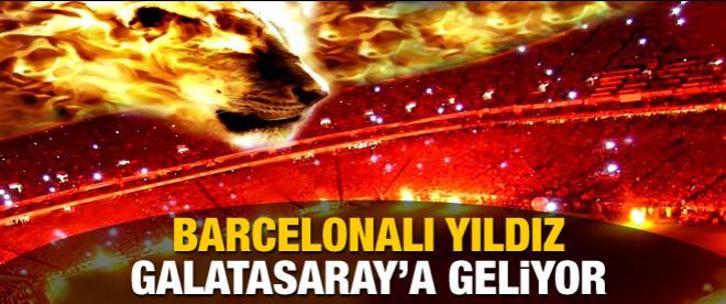 Barcelonalı yıldız oyuncu Galatasaray'a