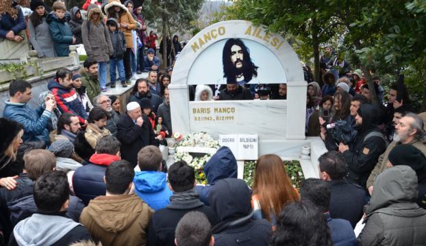 Barış Manço, vefatının 18. yılında anıldı