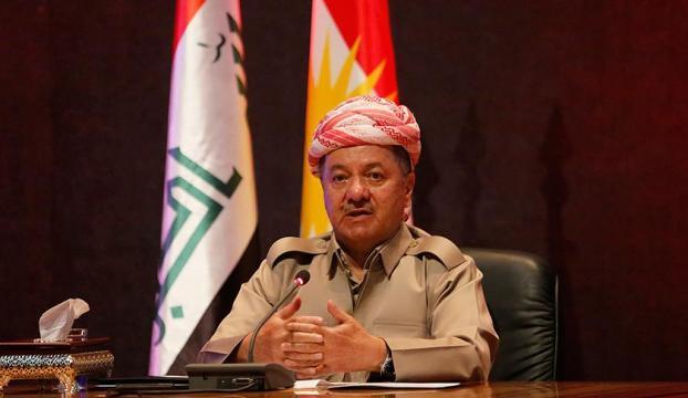 """Barzani: """"Türkiye ile iyi ilişkilerin kurulmasını istiyoruz"""" açıklaması"""