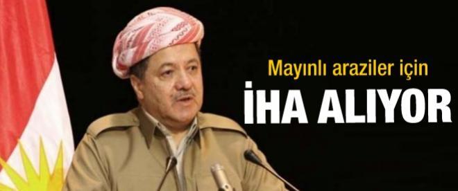 Barzani, İHA alacak