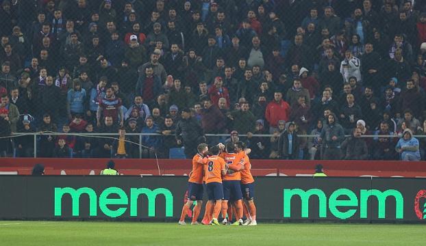 Başakşehir, Trabzonu deplasmanda devirdi