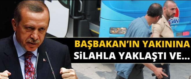 Erdoğan'a yaklaşmaya çalışan şahıs alarma geçirdi