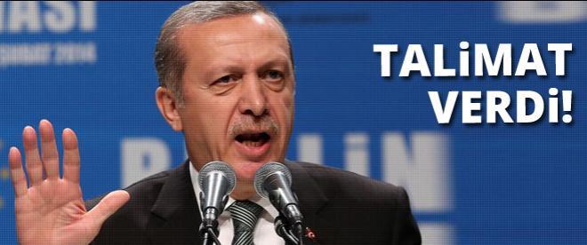 Başbakan Erdoğan'dan Gazze için talimat