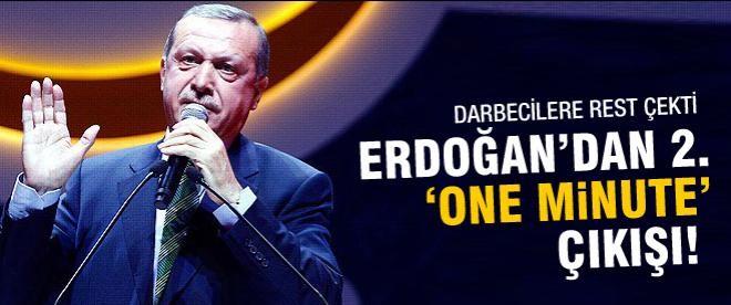 Başbakan Erdoğan'dan 2. 'One Minute' çıkışı