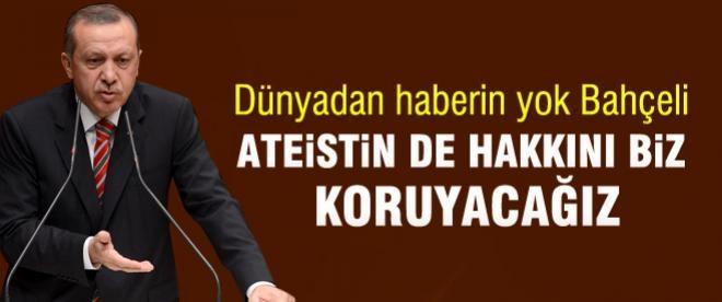 Erdoğan'dan Bahçeli'ye yanıt