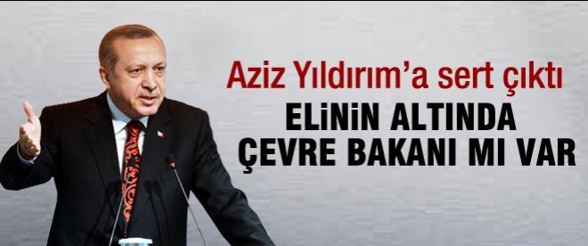 Başbakan Erdoğan'dan Aziz Yıldırım'a tepki