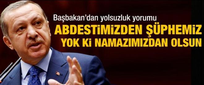 Başbakan Erdoğan'dan operasyon yorumu