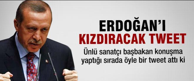 Başbakan Erdoğan'ı kızdıracak tweet
