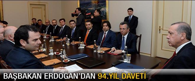 Başbakan Erdoğan'dan 94.yıl daveti