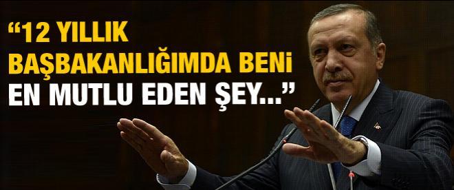 Erdoğan: Beni başbakanlığımda en mutlu eden şey...