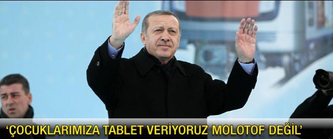 Başbakan Erdoğan Ankara metro açılışında konuştu