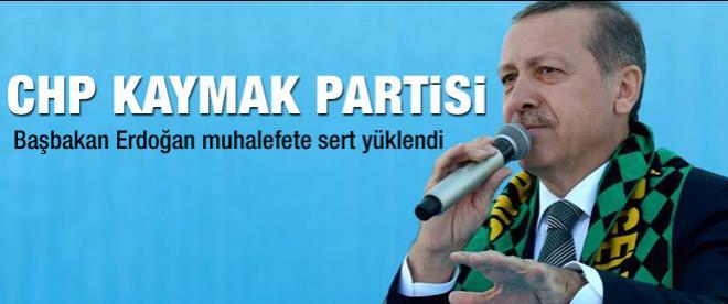 Başbakan Erdoğan sert konuştu