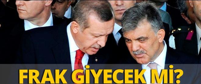 Başbakan Erdoğan frak giyecek mi?