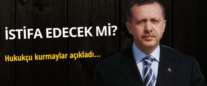 Başbakan Erdoğan istifa etmeden aday olabilir