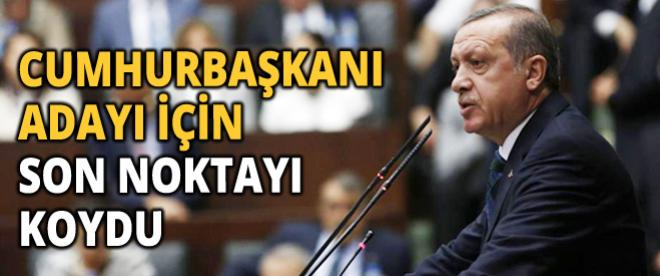 Başbakan Erdoğan Cumhurbaşkanı aday tartışmalarına nokta koydu