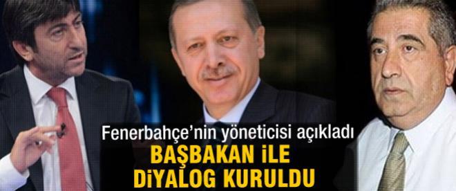 Başbakan Fenerbahçe diyaloğu kuruldu