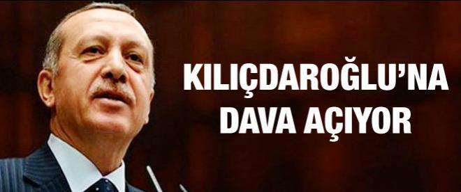 Başbakan'dan Kılıçdaroğlu'na dava