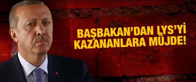 Erdoğan'dan LYS'ye girenlere müjde