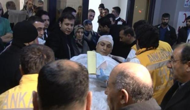 Başbakanın konvoyunda yaralananlar hastanede
