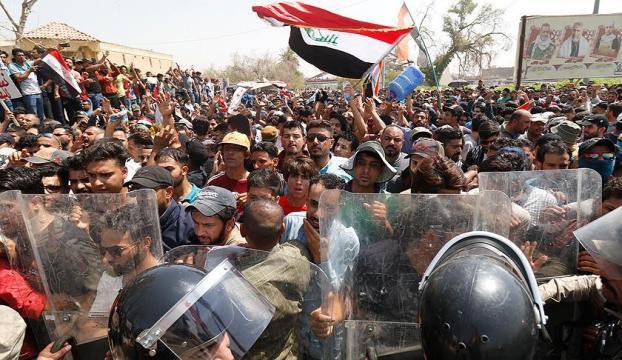 Basrada sokağa çıkma yasağı ilan edildi